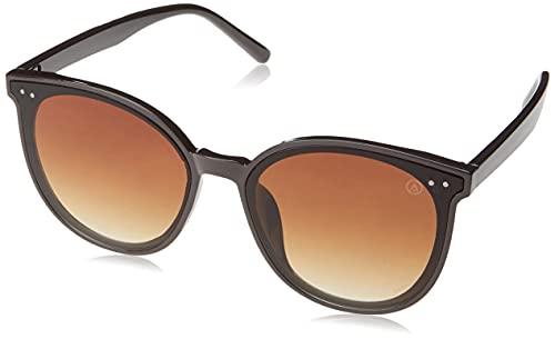 Óculos de Sol Asti, Les Bains, Feminino, Marrom, Único
