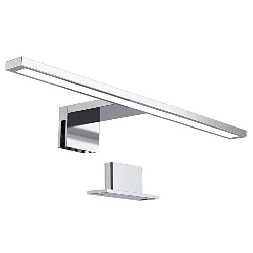 Dailyart LED Spiegelleuchte 8W 780LM 40CM Spiegellampe Wasserdicht IP44 Spiegelleuchte Badezimmer Schminklicht 3-in-1 Make Up Licht 4000K Für Spiegel Bad Spiegelschrank Badlampe Schrank-Beleuchtung