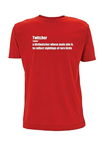 Twitcher Betekenis T Shirt Mens Top Tshirt Vogel Watcher Vogel Kijken Vogels Hobby Urban Woordenboek