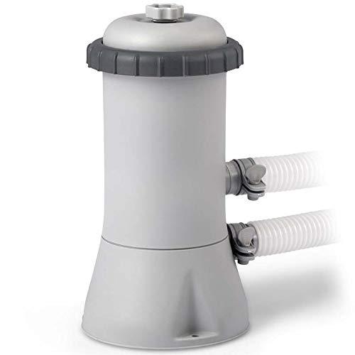 Intex 28638BS 1000 GPH 220 - 240 V Cartridge Filter Pump - Grey