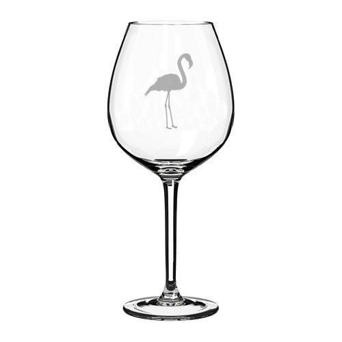 Jumbo-Weinglas, Flamingo, 325 ml