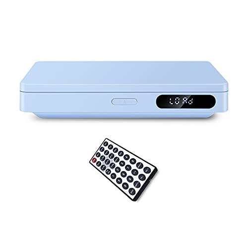 Lettore DVD, porta USB e porta di uscita HDMI e uscita per cuffie, telecomando, senza presa a muro CC (non accetta Blue-Ray disco)