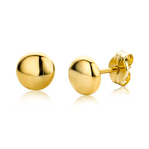 Miore Earrings Women studs Yellow Gold 9 Kt / 375