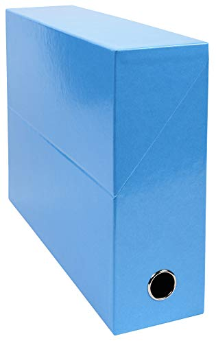 Exacompta 89927E - Caja de transferencia, color turquesa