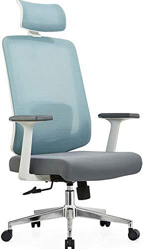 Sillas de Oficina Silla de Oficina con reposabrazos Acolchados y Soporte Lumbar Tareas de diseño ergonómico Tareas y sillas de Juego
