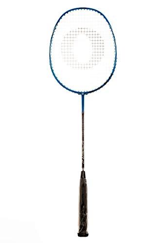Oliver Spider Badminton Schläger Racket besaitet blau schwarz
