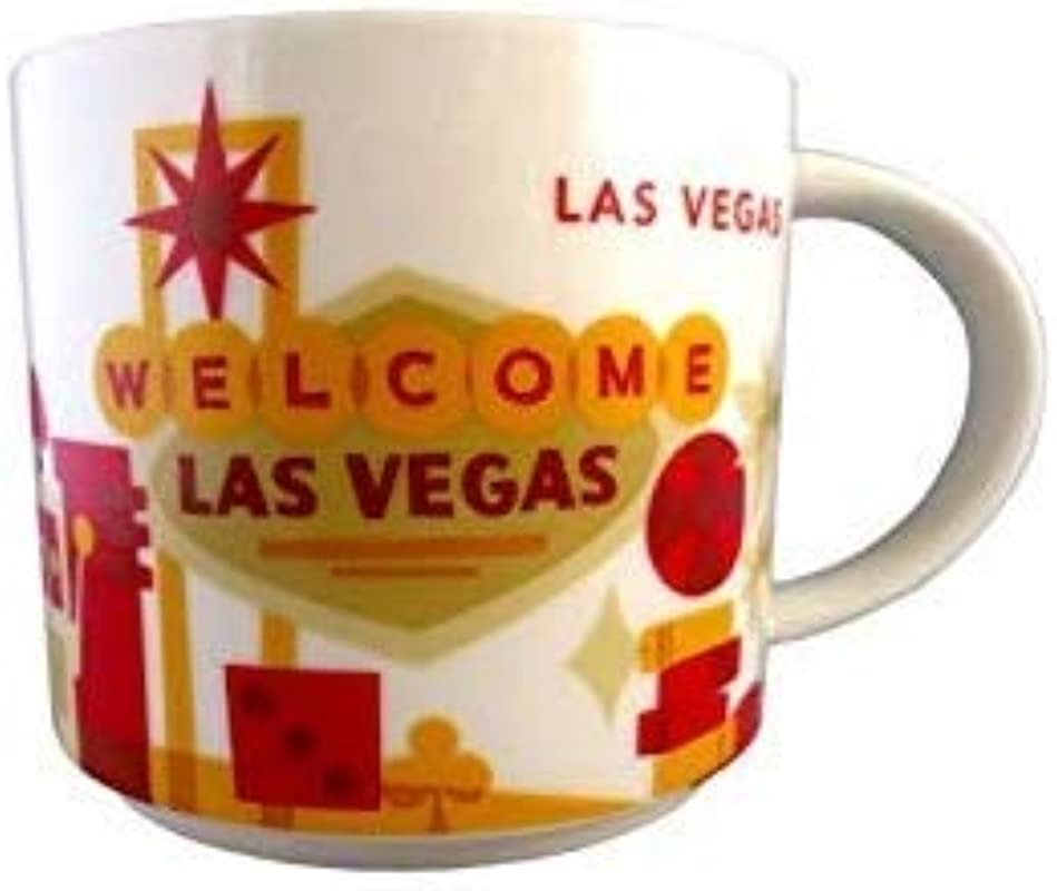 Starbucks Las Vegas Cup Coffee Mug You Are Here Collection