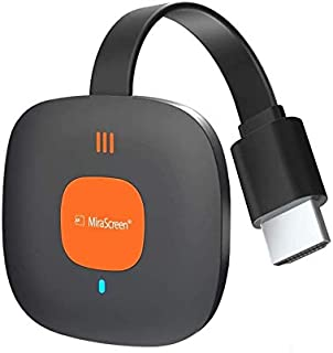 Dongle - Receptor de pantalla inalámbrica (HDMI, 5 GHz + 2,4 GHz, Wi-Fi, 1080HD, adaptador de pantalla inalámbrico para sm...