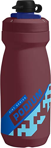 CamelBak Podium Dirt bid/ón de Agua 620 ml Bicicleta Negro 620 ml, Bicicleta, Negro, Gris, Polipropileno Gris Polipropileno - Bidones de Agua PP , Silicona, Giro PP