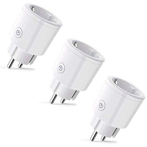 Enchufe Inteligente Wifi Si Smart Enchufe 16A 3Pack Compatible...