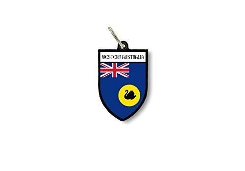 Schlüsselanhänger Schlüsselanhänger Ring Flagge Nationalflagge Souvenir Schild Australien Western
