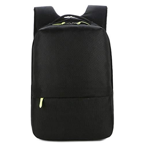 Laptop Backpack,School Bookbag,Travel Bag,Durable Water Resistant Fashion Business Men Women Black Grey-Black L