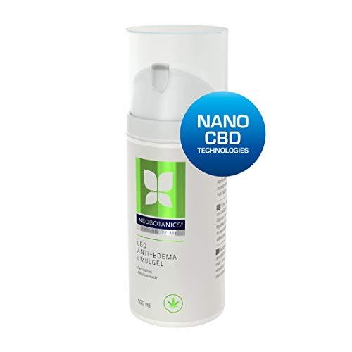 NEOBOTANICS® Anti Ödeme CBD Gel mit dem Wirkstoff Cannabidiol. Lindert sofort geschwollene, müde, schwere Beine. Hochwirksam bei Venenleiden und Lymphödeme, Wassereinlagerungen. Kühlend und beruhigend