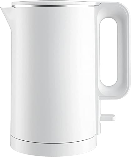Stainless steel electric kettle for quick boiling pot kettle, 1.7 liters 1500-2000W, automatically turn off the boiling dry electric kettle (Color : White, Size : One Size)