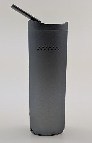 Vaporizer Xmax Starry V2 - nebelgrau - Metall Gehäuse und Keramik Mundstück - premium Verdampfer mit wechselbarer 2600 mAh Batterie - Vape für Kräuter, Wachse und Öle