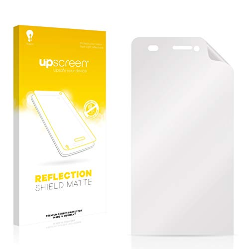 upscreen Entspiegelungs-Schutzfolie kompatibel mit Archos 50 Helium 4G – Anti-Reflex Bildschirmschutz-Folie Matt