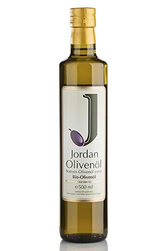 Jordan BIO-Olivenöl - Flasche 0,50 Liter / DE-ÖKO-037