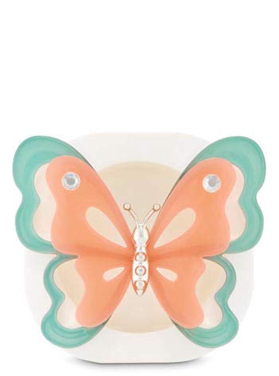 土砂降りお尻特異な【Bath&Body Works/バス&ボディワークス】 クリップ式芳香剤 セントポータブル ホルダー (本体ケースのみ) バタフライ Scentportable Holder Butterfly [並行輸入品]