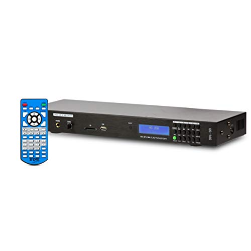 Read About BDS US-160 Rack USB SD BT Audio Player