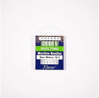 Klasse Quilting Needles, Size 75/11, 1 Pack, 6pcs, AA5106.075