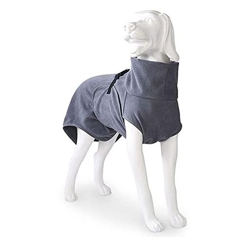 EQDOG Doggy Dry Bademantel, Größe XXXS, Grau