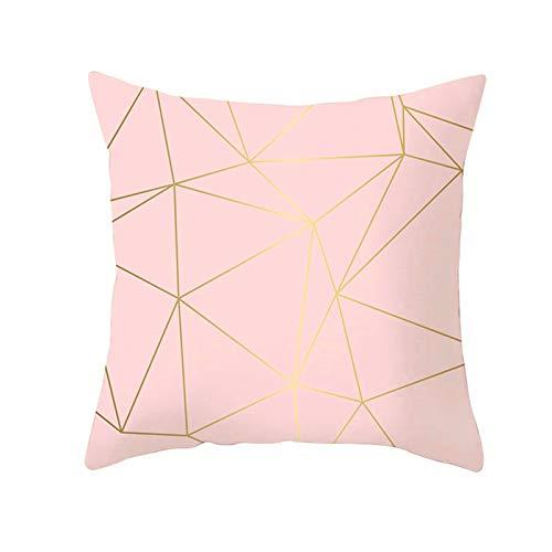 Aeici Fodere per Cuscini Divani, Cuscino Fodera Divano 40x40cm Federe per Cuscini Quadrati Geometria del Triangolo Stile 21