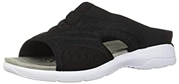 Easy Spirit Womens Traciee 2 Slide Sandals Sandals Casual - Black - Size 9 B