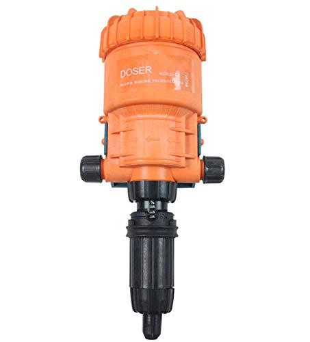 Newtry 0.2 ~ 2% dispensador de inyectores de fertilizantes químicos para riego por goteo Bomba dosificadora de flujo líquido para la industria agrícola de ganado de jardín (0.2-2%)