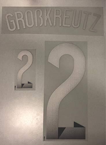 Flock Original WM 2014 DFB Deutschland Away Trikot GROßKREUTZ 2