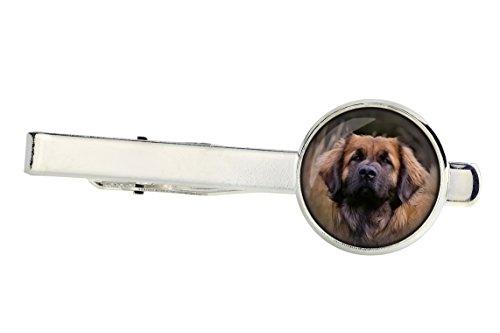 ArtDog Ltd. Leonberger, tiepins para amantes del perro, photo-jewelry, joyas para hombres, hecho a mano