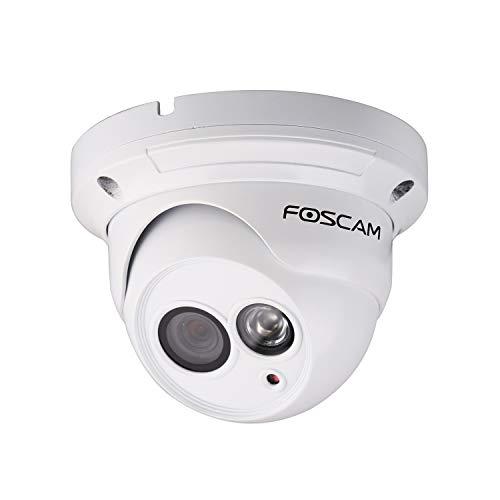 Foscam FI9853EP_3 Telecamera IP da Interno/Esterno, Bianco, 1 Megapixel