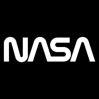 Nasa (2 Pack) Vinyl Decal Sticker | Cars Trucks Vans SUVs Windows Walls Cups Laptops | White | 2-5.5 x 1.5 Inches | KCD2177
