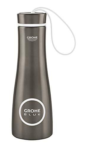 GROHE 40848AL0 Blue Thermo-Trinkflasche, hard graphite gebürstet