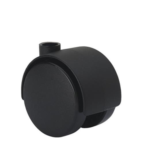 Alex - Rueda cuerpo dk agujero 7mm estufas poliuretano plastico