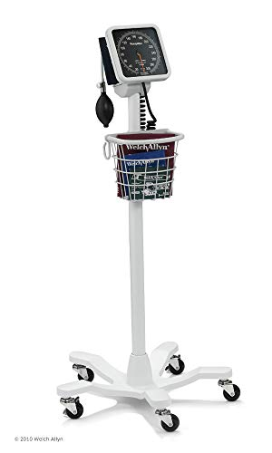 Welch Allyn 767 Mobile Aneroid Sphygmomanometer with Five-Leg Mobile Stand