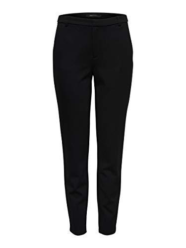 Only Onlstormi Poptrash Cigarette Pnt Noos Pantalones, Negro (Black), W31/L32 para Mujer