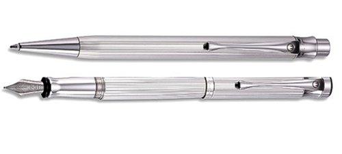 Waldmann Füllhalter und Kugelschreiber SPARSET TANGO 925er Sterling Silber