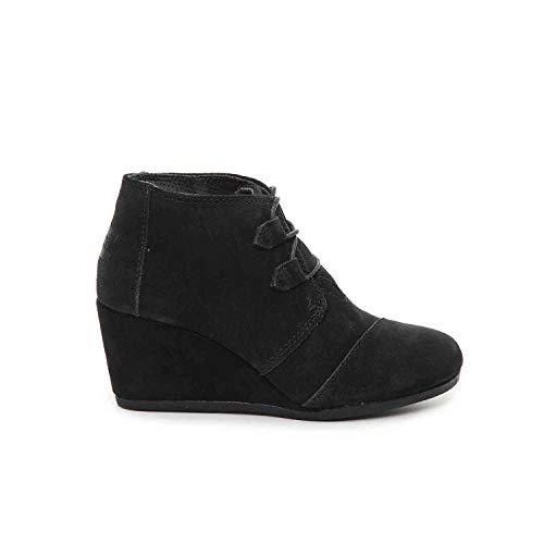 TOMS Black Suede Women's Kala Botie 10012955 (Size: 6)