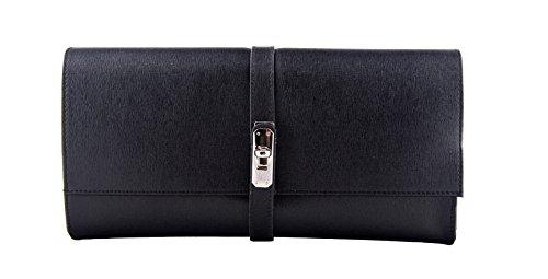 Slingbag Düsseldorf PIA Clutch Handtasche Geldbörse Portemonnaie aus echtem Leder für Damen