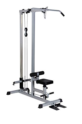 BuyHive LAT Pull Down Machine Low Row Cable Fitness Exercise Body Workout Strength Training Bar Machine