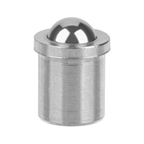 Kugel-Kolben-304 Edelstahl-Präzisions-Positionierungs-Perlen-Schraube glatter Federkugel-Kolben (Größe : 4 * 5mm/0.16 * 0.2in)