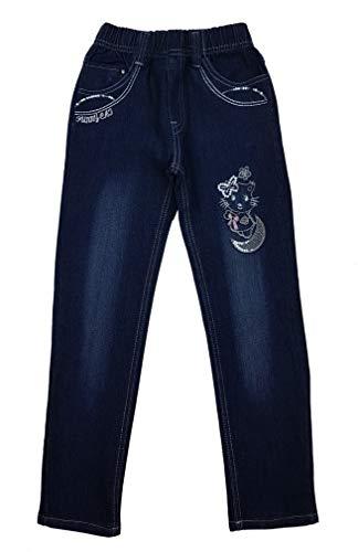Girls Fashion Bequeme Mädchen Jeans mit rundum Gummizug, Gr. 122/128, M89.8