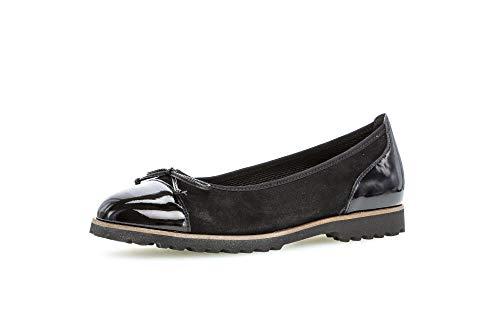Gabor Shoes Gabor 84.160.16 - Bailarinas para mujer, color Negro, talla 36 EU