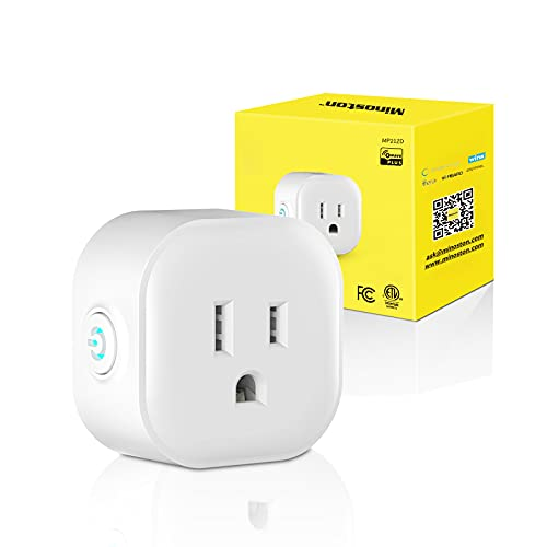 Z-Wave Plus Plug Dimmer Plug-in Smart Outlet, Built-in Repeater Range Extender, Z-Wave Hub Required, SmartThings(DEVICE HANDLER Needed), Alexa and Google Assistant Compatible, 200W(MP21ZD)