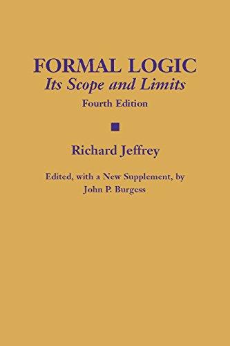 Formal Logic: Its Scope and Limits