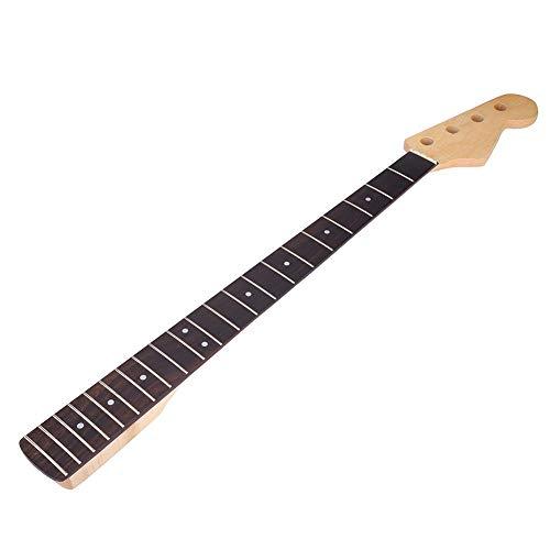 Vbest life 21 trastes Electronic Bass Neck 85cm 4 Cuerdas Diapasón de Palisandro Maple White Mark Dot Neck Guitarra Bajo