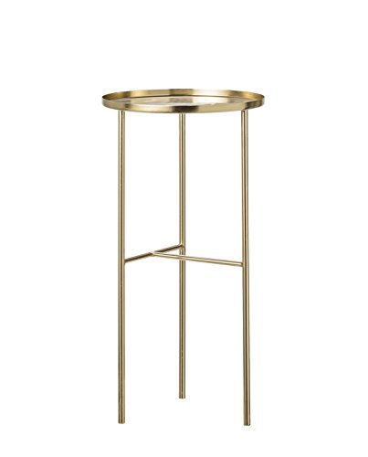 Bloomingville Pretty sidetable, brass Ø30xH60 cm [P][W]