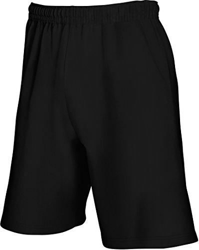 Fruit of the Loom: Lightweight Shorts 64-036-0, Größe:2XL;Farbe:Black