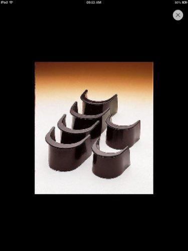 ClubKing - Juego de troneras para mesas de billar (6 unidades, 5 cm)