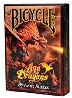 Wilddeckdotcom Age of Dragons (Anne Stokes) Playing Cards by Bicycle